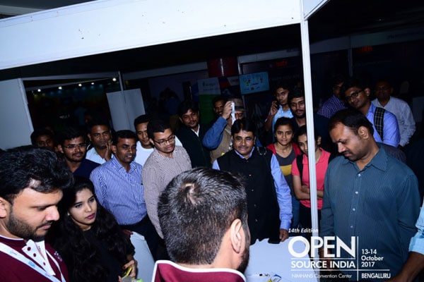 Open Source India 2017 Breaks Past Records - Open Source India 2019